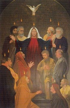 The Holy Spirit is the fruit of the coming of the Son of God into the world .. Benedictine Monastary, Ireland