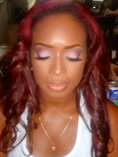 Beautiful Make Up on African American Women.    https://www.facebook.com/AlexandraButlerMUA