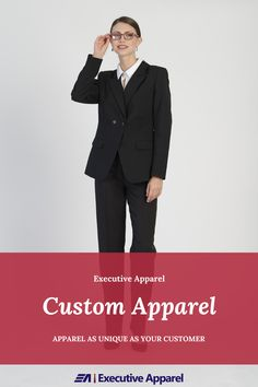 Executive Apparel offers a comprehensive custom apparel program. Click the image to learn more. Apparel Brands, Custom Clothes, This Or That Questions, Learning, Formal, Image, Fashion, Preppy, Moda