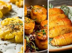 Potatoes are the perfect side dish for any meal because of the myriad ways you can cook them. Here are 23 potato side dishes you can make for dinner tonight to mix things up! Smothered Potatoes, Creamy Mashed Potatoes, Roasted Sweet Potatoes, Potato Sides, Potato Side Dishes, Pork Dishes, Ribs On Grill, Pork Ribs, Easy Chilaquiles Recipe