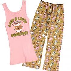 I Got a Latte Problems Pajama Set - Pajamas - Women