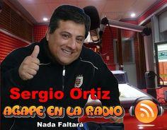 Ágape en la radio: VIDEO: Nada Faltará   -   Sergio Ortiz