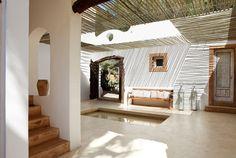 patio / Formentera, Spain