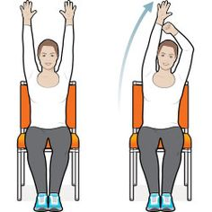 8 exercise moves you can do in your chair  part of