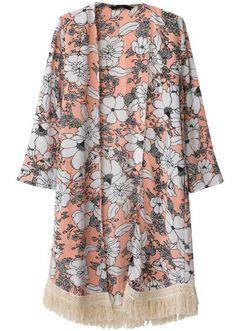 Hot Women Outerwear Floral Print Tassel Long Sleeve Loose Casual Kimono Cardigan Tops Pink l pink Online Shopping Kimono Shirt, Kimono Cardigan, Haut Kimono, Top Kimono, Gilet Kimono, Long Sleeve Kimono, Kimono Coat, Fringe Kimono, Floral Cardigan