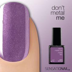 I Love Sensationail Gel Polish! #DontMetalMe from our #LiquidMetal #SensatioNail Collection