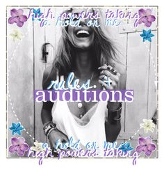 """""""✧ rules + auditions ✧"""" by those-special-icxners ❤ liked on Polyvore featuring art and tsirulesandauditions"""