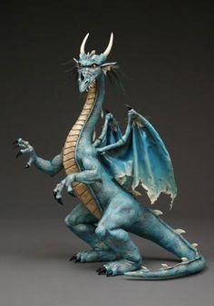 dragon_sm.jpg (300×429) paper clay very cool