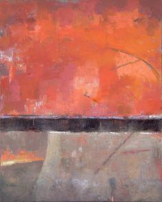 Red, Black, Gray 60 x 48 oil on canvas www.davidmichaelslonim.com