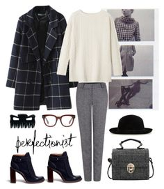 """""""Untitled #145"""" by amandajac ❤ liked on Polyvore featuring Pink Tartan, Toast, Tory Burch and Madewell"""