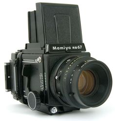 Mamiya RB67 - A beautiful beast I love to use. Just look at the magnificent matte screen and you never want to use a digital screen again.