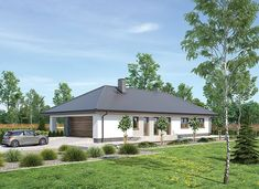 Murator M249 Wygodny - zdjęcie 2 Gazebo, House Plans, Outdoor Structures, Cabin, House Styles, Home Decor, Ground Floor, Home Plans, Kiosk