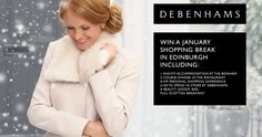 The Bonham and Debenhams Competition - Edinburgh Glasgow, Edinburgh, Debenhams, Competition, Shopping