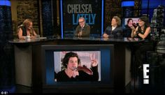 Lindsay Lohan Guest Hosts Chelsea Lately (And I Was There)