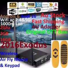 KIII K3 2016 Exodus 4K Android 6 Box 2G 2G 16G+Fly Air Mouse   Other Electronics & Computers   Gumtree Australia Manningham Area - Doncaster   1118104764