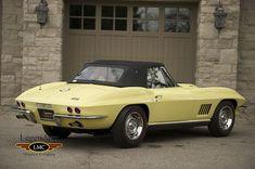 Classic Car News Pics And Videos From Around The World 1967 Corvette Stingray, Yellow Corvette, Corvette Summer, Mercedes 300sl, Bentley Mulsanne, Mini Trucks, Chevrolet Corvette, Rolls Royce, Vintage Cars