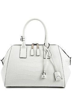 Marc Jacobs Medium Alligator Incognito in White Winter Looks, Fall Winter, Bags 2014, Marc Jacobs, Add Link, White Bags, Medium, Women's Bags, Lady