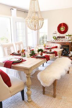 How to Set an Informal Table: 12 Days of Christmas Table Setting - Home Stories A to Z Sponsored by Better Homes & Gardens at Walmart.