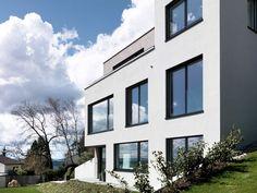 Individuelles Architektenhaus im Kanton Zürich Kanton, Multi Story Building, Architecture, Projects, House