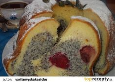Bunt Cakes, Czech Recipes, Croissant, Banana Bread, French Toast, Food And Drink, Breakfast, Desserts, Brownies
