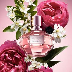 Shop Flowerbomb Nectar by Viktor&Rolf at Sephora. This iconic women's fragrance explodes with cattleyas, roses, and jasmine to make this the ultimate floral perfume. Flower Bomb, Viktor Rolf, Best Perfume, Floral Fashion, Orange Flowers, Floral Bouquets, Scented Candles, Summer Nails, Decoration