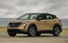Pre Orders & Booking for Nissan Ariya started in Japan | Launch at the end of this year for other Countries - fairwheels Electric Crossover, Crossover Suv, New Nissan, Big Battery, Japanese Aesthetic, Automotive News, Other Countries, Wheel Cover, Aluminum Wheels