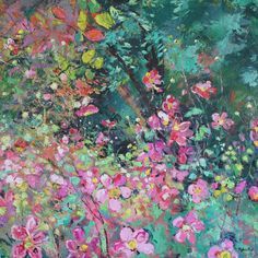 Abstract City, Abstract Landscape, Landscape Paintings, Oil Paintings, Landscapes, Japanese Anemone, Affordable Art Fair, Contemporary Paintings, Oil On Canvas