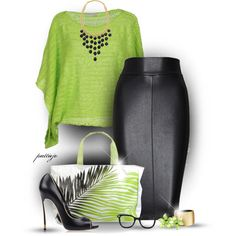 A fashion look from September 2014 featuring Roberto Collina sweaters, Bailey 44 skirts y Casadei pumps. Browse and shop related looks.