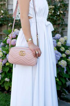 Gucci Pink Matelasse Crossbody Bag