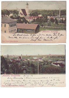 Thalkirchen, postcards ca. 1900
