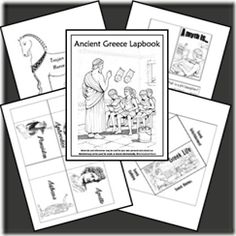 ANCIENT GREECE: ancient greece lapbook