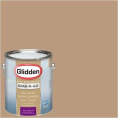 The Glidden Premium 1 gal. Satin Latex Exterior Paint is ideal for application on all exterior siding, eaves and downspouts. The acrylic latex base resists damage caused by UV rays and severe weather Paint Keys, Paint Paint, Paint Primer, Colorado Avalanche, Colorado Rockies, Colorado House, Wnba, Flat Interior, Interior Exterior