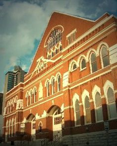 Ryman Auditorium in Nashville has three ghosts who like to come and take in the shows!  Apparently the need for entertainment doesn't die when we do!  Captain Ryman is one such ghost who will walk the property and watch from the balcony as shows are performed; country music star Hank Williams also is said to haunt the auditorium so that he can listen to the music he so loved; a confederate soldier sits in the gallery often, taking in a show whenever he pleases.