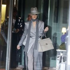 Celine Dion spotted leaving her hotel for her concert in Paris