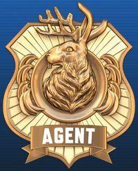 Odd Squad Badge.