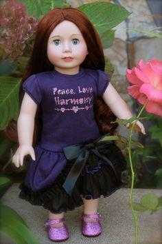 PEACE, LOVE HARMONY CLUB DOLLS. Visit us at www.harmonyclubdolls.com