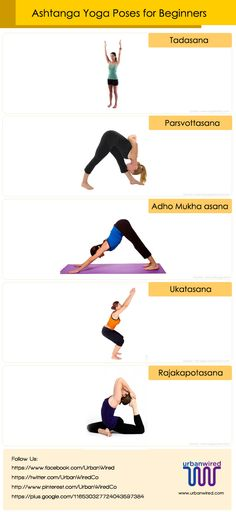 Ashtanga Yoga Poses for Beginners #AshtangaYoga #YogaPoses #YogaBenefits