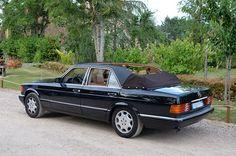 mercedes benz w126 500sel limousine