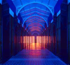 flynn talbot illuminates V&A museum gallery as a cathedral of light