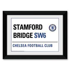 Chelsea Stamford Bridge Framed Print