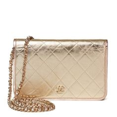7248d0836fcb Wallet on Chain leather crossbody bag Chanel Woc