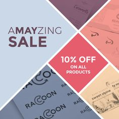 Can't avail with our last promo? Don't worry, Amayzing Sale is now available. 10% OFF on all products for orders above $190 only. Isn't it a-MAY-zing? Claim your free coupon now!