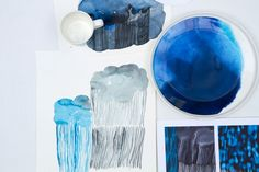 Blue Christmas! Or the painterly beauty of water @ Marimekko.