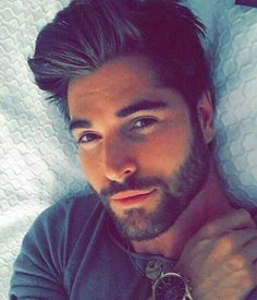 I would love to be in that bed with him - Nick Bateman Nick Bateman, Beautiful Men Faces, Gorgeous Men, Barba Sexy, Trendy Mens Hairstyles, Sexy Beard, Hommes Sexy, Attractive Men, Good Looking Men