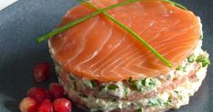 Salmon recipes 329325791487817114 - Mille-feuille de la mer Source by Fish Recipes, Meat Recipes, Seafood Recipes, Appetizer Recipes, Healthy Recipes, Salmon Recipes, Mini Hamburgers, Smoking Recipes, Appetisers