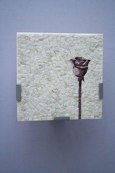 Mosaico Artigiano – Laboratorio di artigianato artistico | Applique rosa