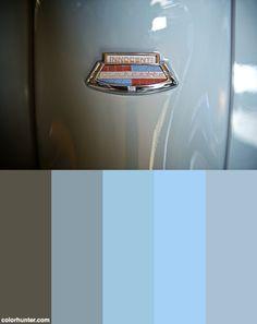 Vintage Scooters Color Scheme