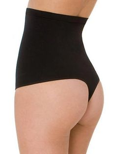 Your dress: It's cut close to the body and clings to your tummy area.  The essential: You'll need some shapewear that can smooth and pull in your problem area -- your lower stomach. Look for one with either boy shorts or one with a thong bottom to ensure that you get a seamless finish.  Skinnygirl Shapewear seamless hi-rise shaping thong, $28, ClassicShapewear.com