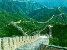 Great Wall of China, China. La Gran Muralla, una de las maravillas del mundo. Habría que ir a verla!!