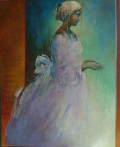"Saatchi Online Artist Danka Jaworska; Mixed Media, ""Lilla"" #art"